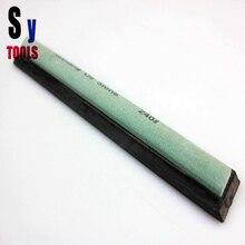 Sanying зеленый кремниевый Карбид водный точильный камень Ruixin Apex карандаш запасная точилка Камень полукруглой формы для зубчатого ножа