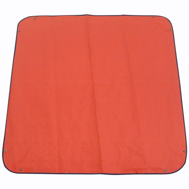 100X100 см уплотненный коврик для изменения растений, многоразовая Водонепроницаемая подушка для бассейна, квадратная подушка для садоводства, смешанный дизайн с замком для почвы, коврик с цветком - Цвет: Blue