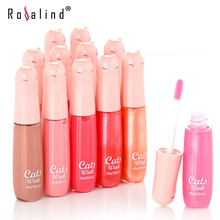 Rosalind Lips Makeup Wheaten Nude Moisture Care Vitamin E Nourish Lip Gloss 12 Gorgeous Color 10g Brand  MANSHILI