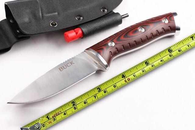 couteau de survie a lame fixe