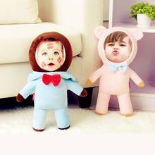 New Hot Photo customization True bear Plush Toys Dolls Stuffed Animal Pillow Sofa Car Decorative Creative Birthday Gift