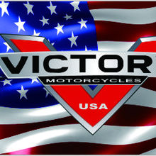 Motorcycle flag VICTORY Banner 3ftx5ft  100% Polyester  03
