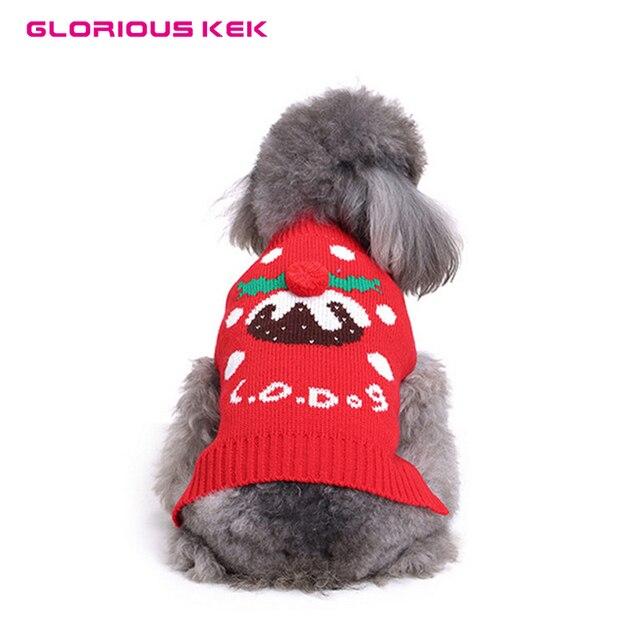 Weihnachten Hund Pullover Winter Warm Hundemantel Kleine Hunde ...