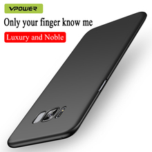 for Samsung S8 case galaxy Plus cases cover Vpower PC hard protection Case For s8 plus phone back