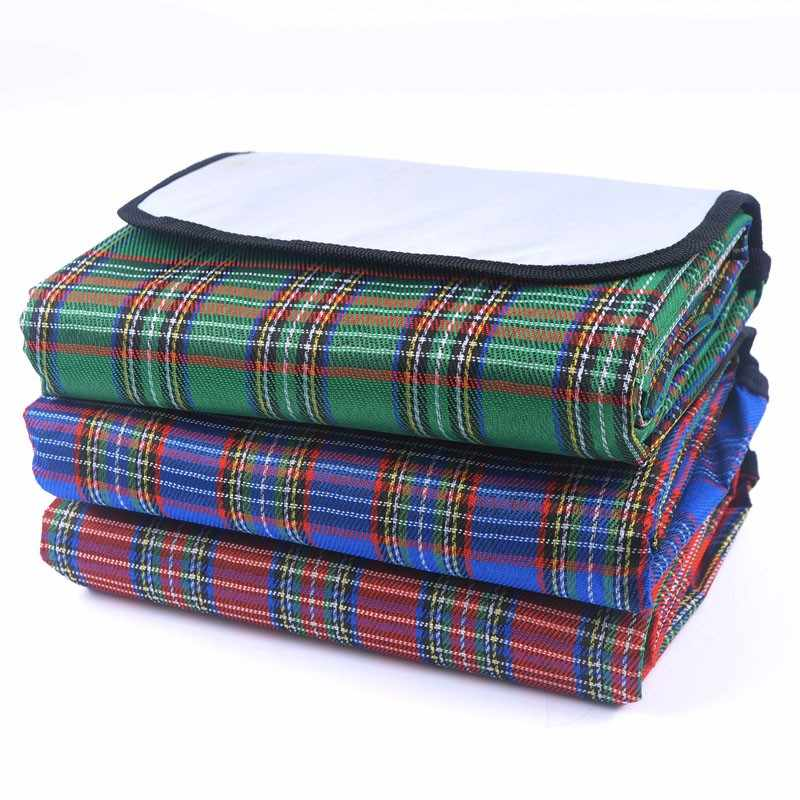 18 Type Outdoor Beach Picnic Foldable Camping Mat Multiplayer Waterproof Sleeping Camping Pad Mat Moistureproof Baby Climb Plaid