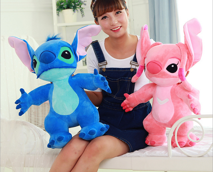 lovely plush Stitch toy new creative standing stitch doll gift about 80cm 0362