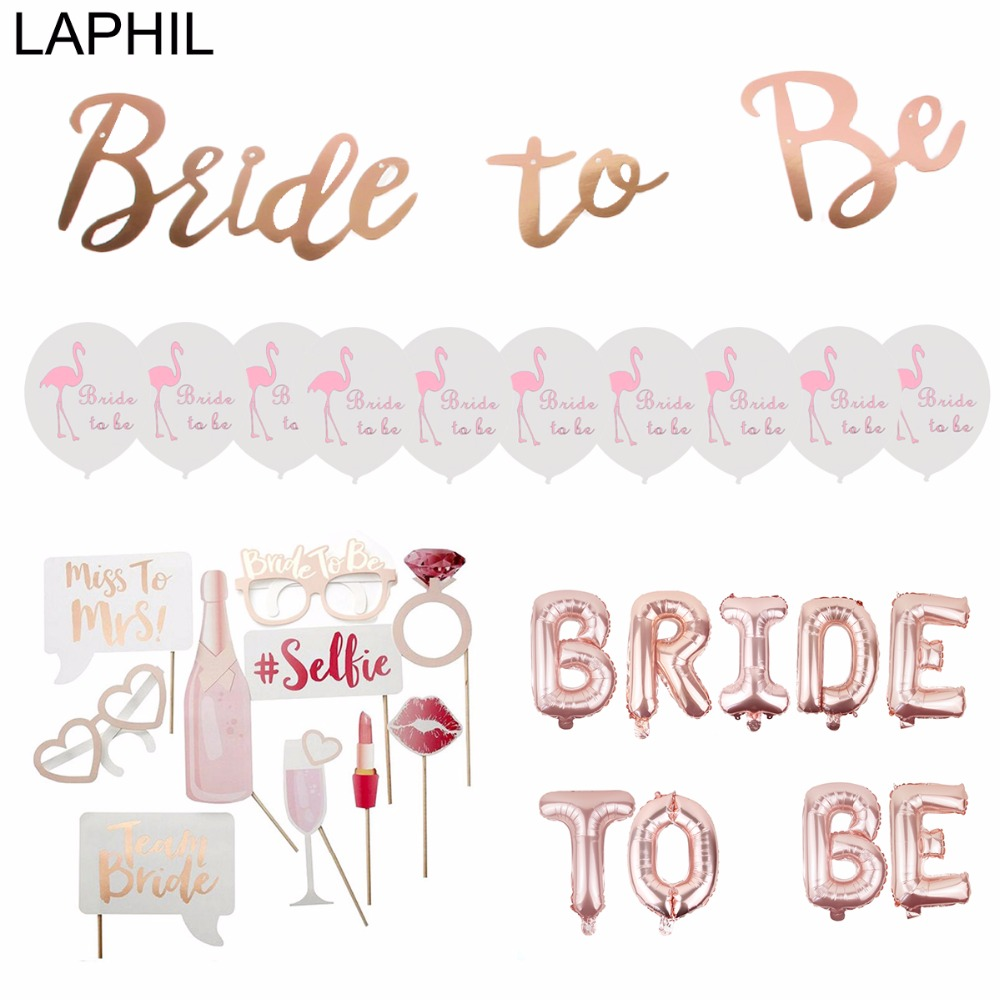 Laphil team bride to be balloons just married banner wedding laphil team bride to be balloons just married banner wedding decoration bridal shower photobooth bachelorette party supplies junglespirit Image collections