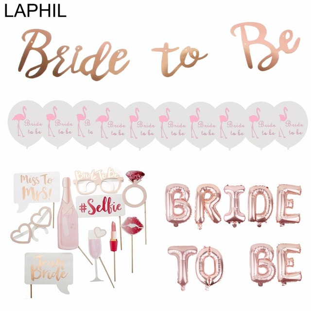 Laphil team bride to be balloons just married banner wedding laphil team bride to be balloons just married banner wedding decoration bridal shower photobooth bachelorette party junglespirit Images