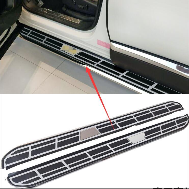 Качество чехол для peugeot 5008 2017 ноги доски боковой панели treadplate педали лучше алюминиевый сплав наивысшего качества автомобиль Стайлинг