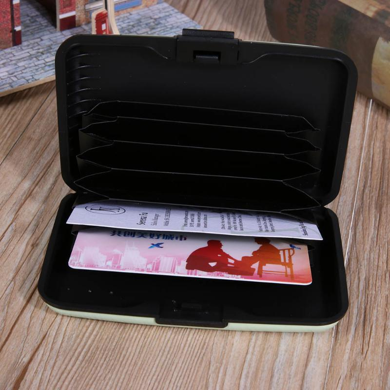 7 Layer Business Cards Holder Case Cartoon Owl Pattern Waterproof ID ...