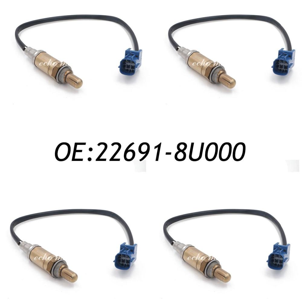 New 4PCS Rear Oxygen Sensor For Nissan Altima Murano Sentra Infiniti 22691-8U000 15369 цена 2017