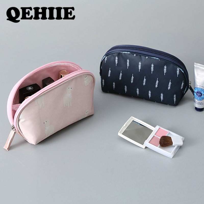 Case Makeup-Pouch Cosmetic-Bag Beautician-Storage Travel-Organizer Waterproof-Shell Portable