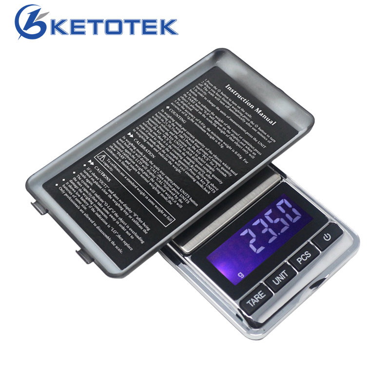 200g/0.01g Mini Jewelry Scale Electronic Scale Portable LCD Digital Weight Balance for Diamond