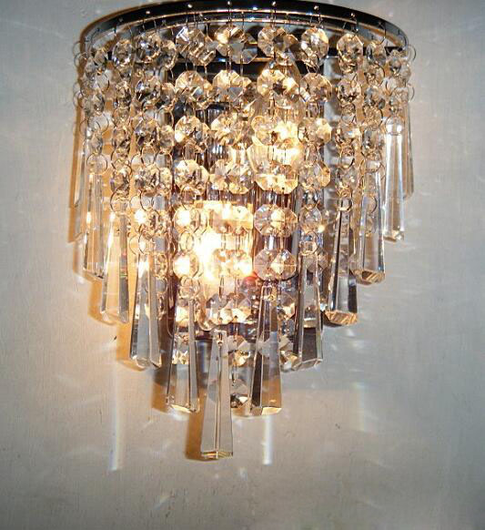 modern Crystal wall lamp modern simple and stylish bedroom living room dining room aisle led lighting fixture for bedroom crystal flower pendant light modern lighting living room lamp bedroom lamp aisle lighting