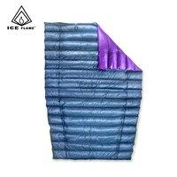 Ледяное пламя UL 7D 90% белый гусиный пух спальный мешок спальное одеяло под одеяло для гамака Поход Кемпинг Пешие прогулки