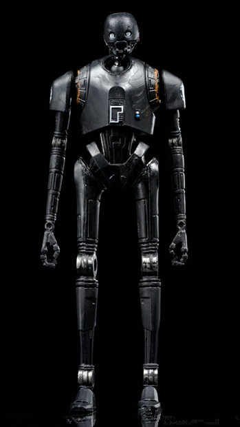 3.75 '' action figure (Rogue One: A Star Wars Story) K-2SO robot Special promotions 5 joints moveable , rare Free shipping футболка wearcraft premium printio дроид k 2so
