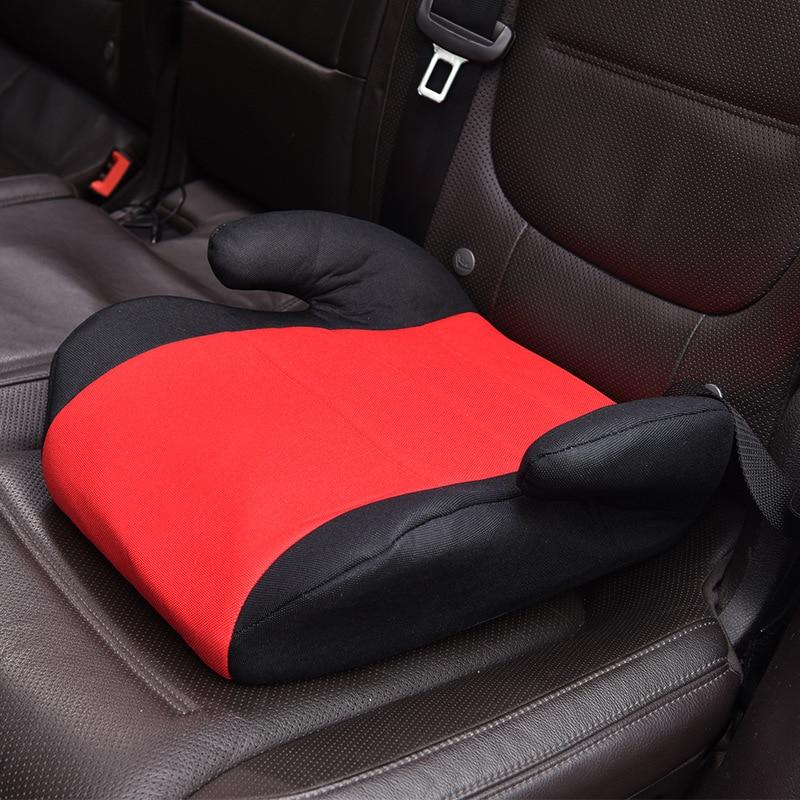 Enfants bébé sécurité siège auto rehausseur coussin adapté pour 2-12 ans enfants coton sécurité portable respirant siège de voiture