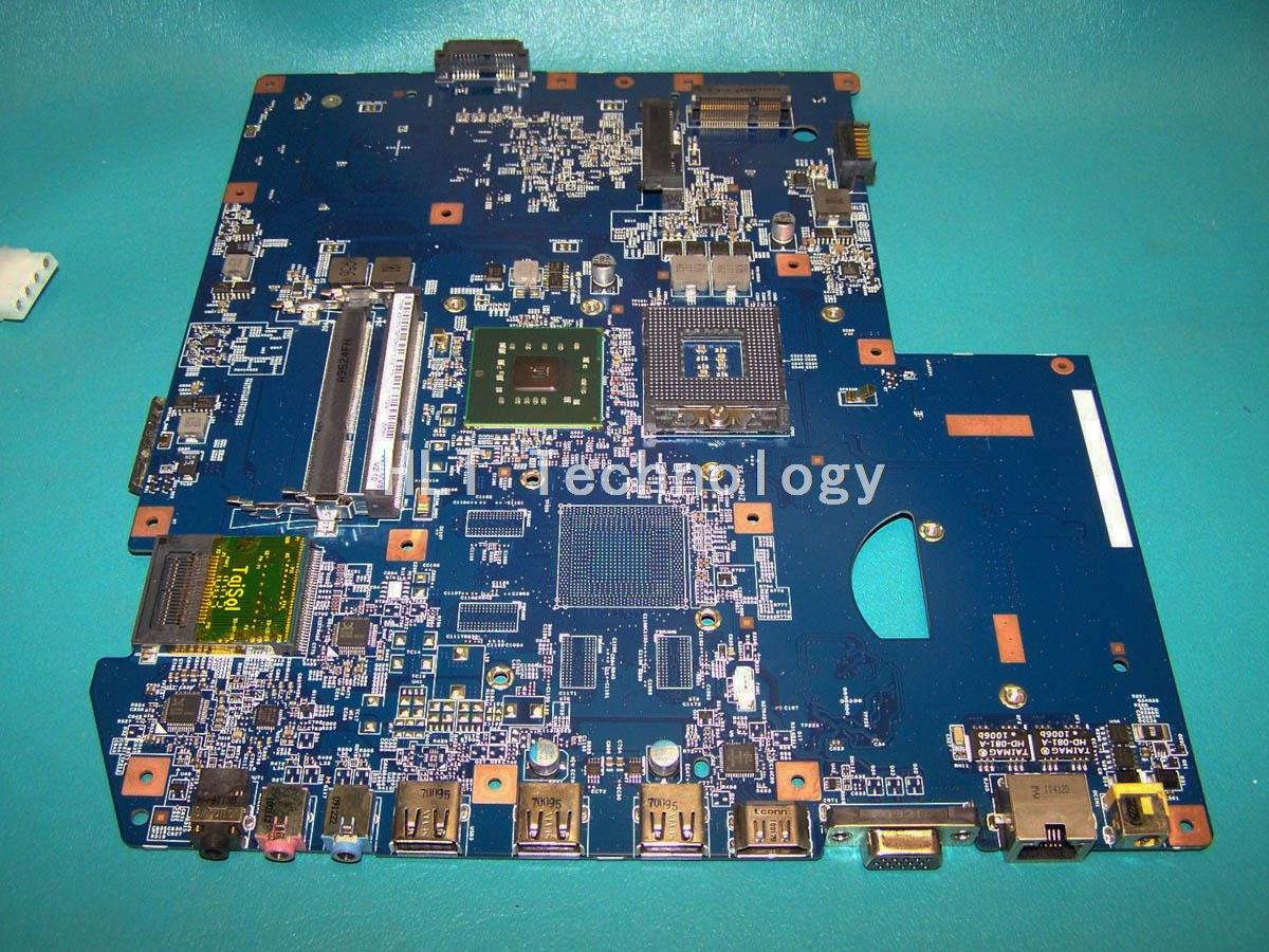 SHELI laptop Motherboard For ACER 7736 48.4FX04.011 DDR3 integrated graphics card 100% fully tested