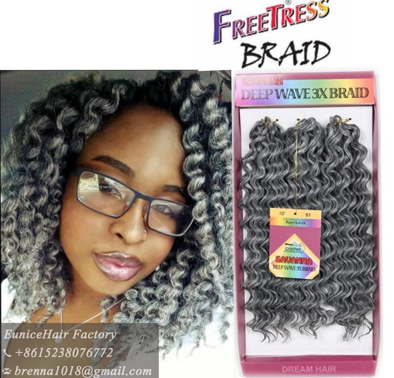Aliexpress Com Buy Crochet Braids Freetress Deep Wave