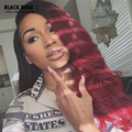 Indian Hair Extensions Annabelle Hair 4 Bundles Indian Loose Wave Deep Cheap Ombre Color Human Hair