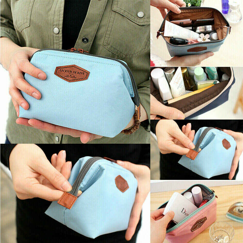 Fire Sell Beauty Travel Small Cosmetic bag Cosmetic Case Makeup Bag Toiletry Organizer New