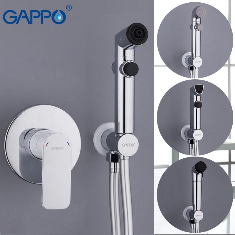 GAPPO bianco Bidet igienico doccia bagno miscelatore bidet musulmano doccia wc bidet montaggio a parete wc spruzzo