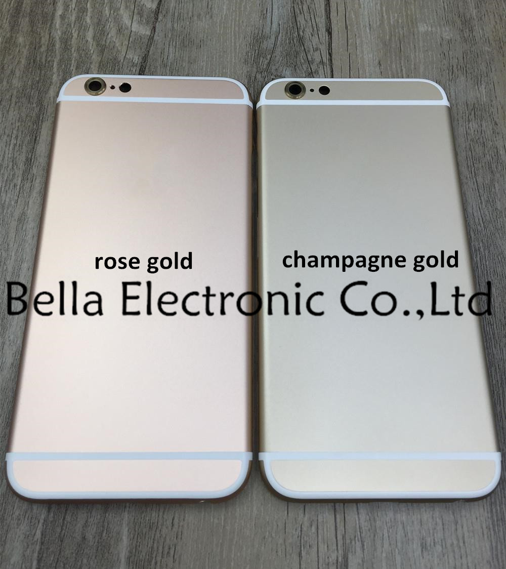 c2864370844d83 For iPhone 6s Plus Back Housing Champagne Gold for iPhone 6s 5.5 inch  Housing Battery Door Cover Rose Gold Gray Silver Housing-in Mobile Phone  Housings from ...