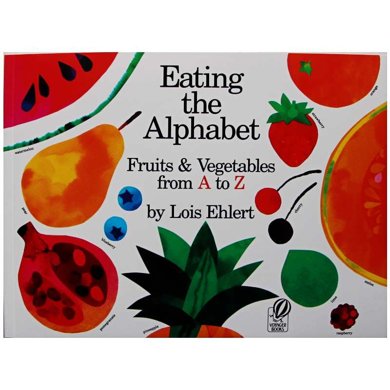 Eating the Alphabet Fruits and Vegetables from A toZ Educational English Picture Book Learning Card Story Book Baby Kid Children image