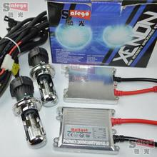 55W xenon AC 12V hid 55W ballast H4-3 Hi/Lo Bixenon H4 kit 55W 6000K 8000K 4300K 5000K HID kit Bi xenon H4 55W