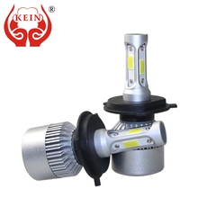 цена на KEIN H7 H4 H11 H8 H1 H3 72w 9005 9006 HB3 HB4 H10 car headlight led 8000Lm Auto Headlamp 6500K fog Bulb Vehicle Exterior lights