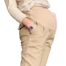 Coton Enceintes Pantalon De Maternité Vêtements Pour Les Femmes Enceintes Pantalon Grossesse Pantalon Gestante Pantalones Embarazada Vêtements