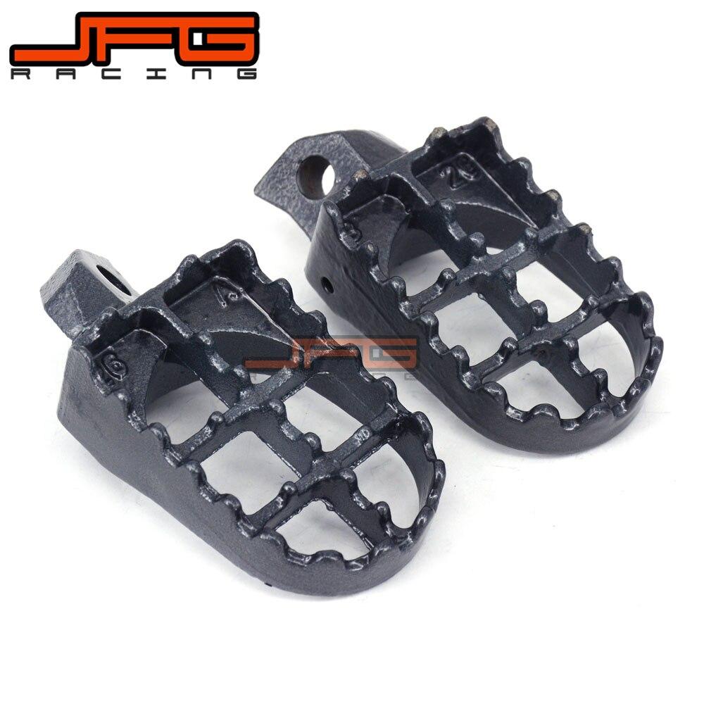 Foot Pegs Footrest For Kawasaki KDX200 KDX220 KDX250 KDX 200 220 250 KX125 KX250 KX500 KX 125 250 500 Dirt Bike Motocross