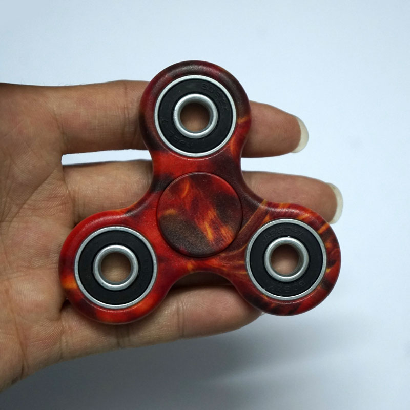 Puzzles Toys & Hobbies Hot 3d Fidget Hand Finger Spinner Edc Focus Stress Reliever Toys Camouflage Galaxy Sky For Autism And Adhd Adult Kids Toys