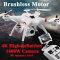 Free Shipping X16 RC Helicopter Brushless Motor 2.4G 4CH 6Axis FPV Quadcopter RTF Automatic Return 360 Degree Flip Drone
