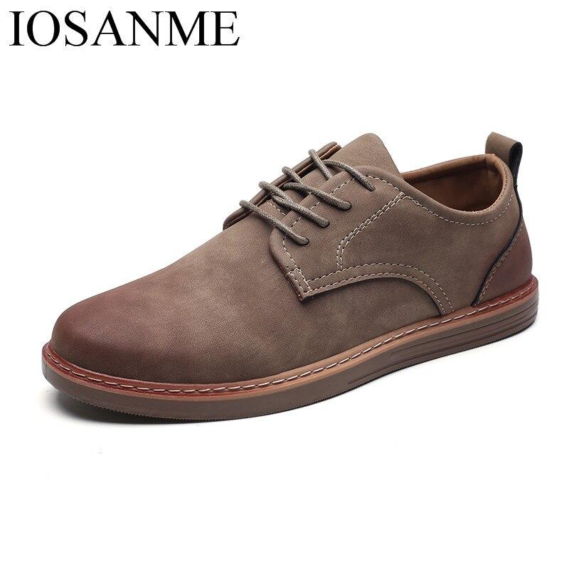 Fashion Leather Casual Shoes Men Comfortable Leisure Moccasins Cheap Dress Male Footwear Work Elegant Boy Oxford Shoes For Men