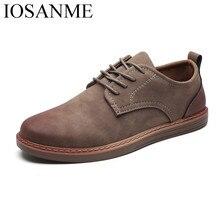 Модная кожаная повседневная обувь; удобные мужские мокасины для отдыха; недорогие модельные мужские туфли; элегантные мужские туфли-оксфорды для работы