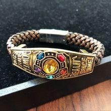 Avengers costumes Thanos bracelet Party props Anime Marvel bracelet