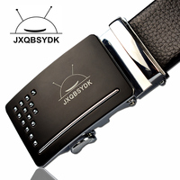 New Top High Quality Leather Belts Men Fashion Belts 2016 Automatic Buckle Male Belts For