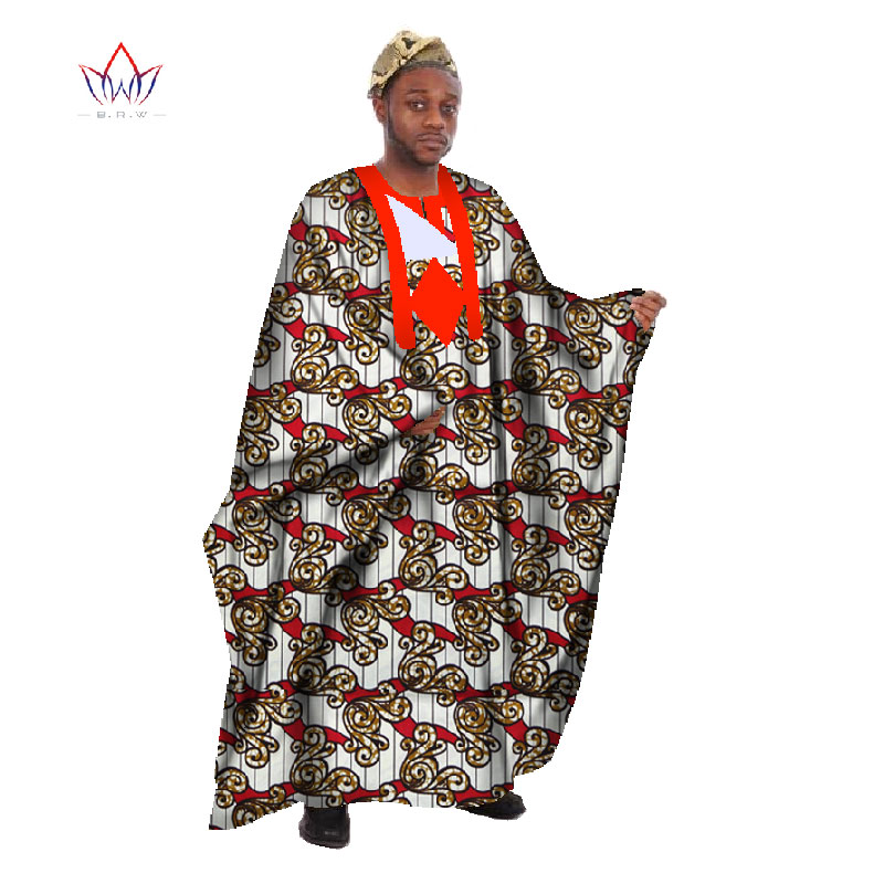 Clothing Robe African Bazin 27