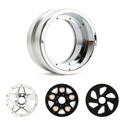 купить 2.2 Inch RC Beadlock Wheel Rim With Multi-combination For 1:8 1:10 RC Rock Crawler Traxxas TRX-4 Axial SCX10 90046 TF2 по цене 278.79 рублей