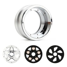 4pcs 2.2 Inch RC Beadlock Wheel Rim With Multi-combination For 1:8 1:10 RC Rock Crawler Traxxas TRX-4 Axial SCX10 90046 TF2(China)