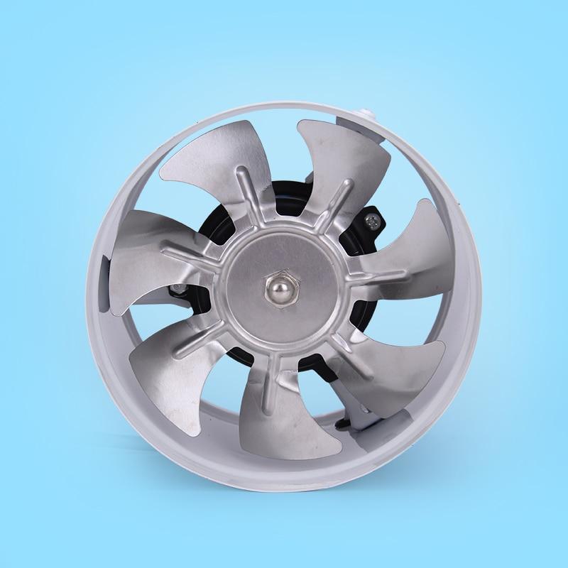 150mm Exhaust Fan For Kitchen Ac220v Pipeline Fan For Ventilation 6 Inch High Speed Mute Fan