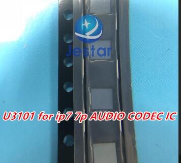 20 개/몫 U3101 CS42L71 아이폰 7 7 플러스 큰 메인 오디오 코덱 ic 칩