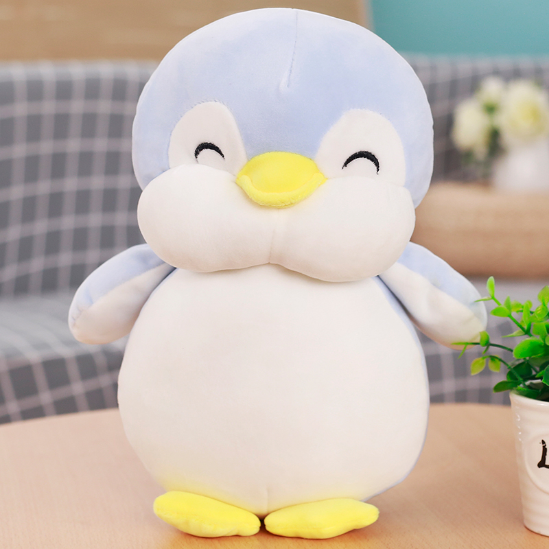 1pc 30cm Cute Soft Penguin Plush Toys Staffed Cartoon Animal Doll FashionToy for Kids Baby Lovely Girls Christmas Birthday Gift