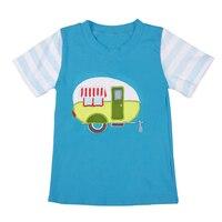 Mais promoção Boutique Da Menina do Algodão Roupas Bebê Recém-nascido Verão Top T-shirt roupas BSY801-010