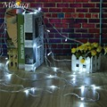 Waterproof EU/US Plug 9 Colors 10M 100 LED String Lighjt Fairy LED Outdoor Light Garden Lamp Wedding Party Christmas Decor