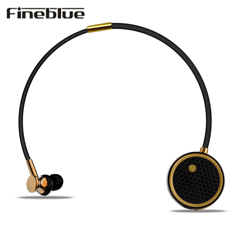 Fineblue C8 Bluetooth Earphone Wireless Stereo Sport Ear Buds Headset with Mic Call Vibration Alert Handsfree for iPhone Xiaomi