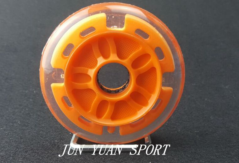 Image 5 - High quality!8Pieces/lot 90mm LED Flash Inline Speed Racing Speed Skating Wheel for Street Brushing Cool Light,Free shipping-in Flashing Roller from Sports & Entertainment
