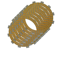 LOPOR For SUZUKI RMX250 1989 1990 1991 1994 1995 1996 1997 1998 1999 2000 Motorcycle Friction Clutch Plates kits