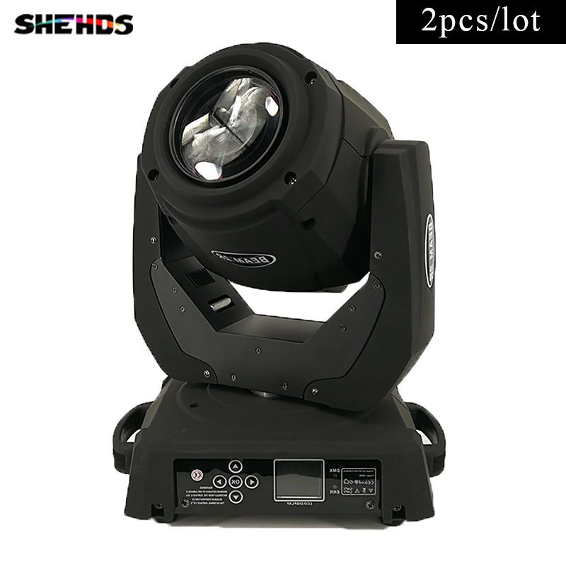 2pcs/lot Fast ShippingLED Beam 132W 2R Lighting for Mobile DJ, Party, nightclub 16channels stage lighting,SHEHDS 6pcs lot white color 132w sharpy osram 2r beam moving head dj lighting dmx 512 stage light for party